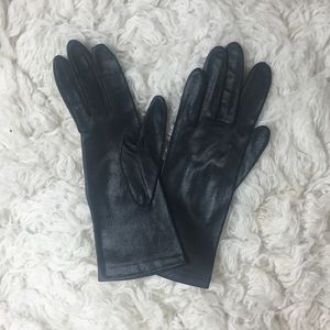 VINTAGE black dress gloves